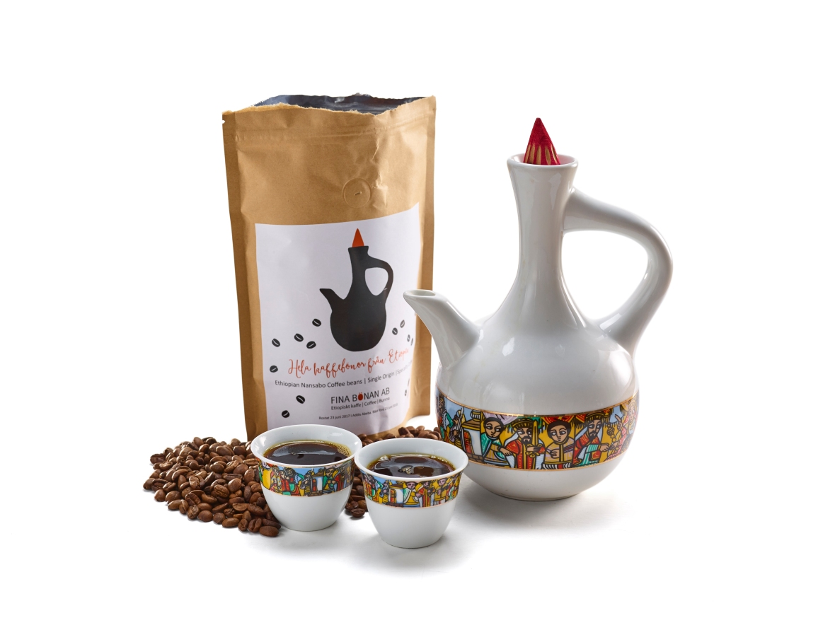 Fina bönan 17-172, Etiopiskt kaffe